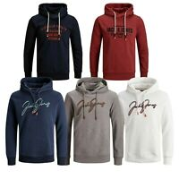 Jack & Jones Mens King Size Jumpers Long Sleeve Smart Hooded Pullover Casual Top