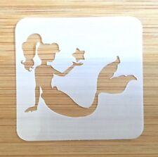 Face paint stencil reusable washable Star Mermaid 190 Mylar 4.5 cm x 4.5