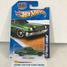 '70 Monte Carlo #106 * Green * 2011 Hot Wheels * NF21