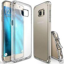 Galaxy S7 Edge Ultra Hybrid AIR CUSHION Clear back + TPU bumper case