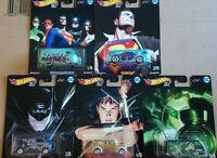 Hot Wheels Alex Ross DC Batman Superman   Lot de 5 (N46)