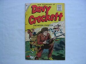 Davy Crockett Frontier Fighter #1**Charlton Comics (1955)