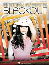 Britney Spears Blackout Pop PVG Learn to Play Piano Vocal & Guitar Music Book