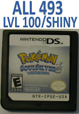 Pokemon Soul Silver DS lite DSi XL 2DS 3DS All 493 LvL 100 SoulSilver