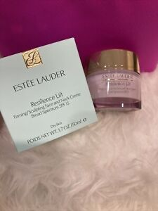 Estee Lauder Resilience Lift Firming-Sculpting Face and Neck Creme SFP 1.7oz