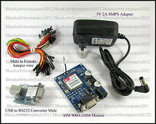 SIM900A GSM Module Complete Kit for Arduino, Raspberry pi, 8051 Microcontrollers