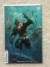 DC Justice League #10 Signed By Scott Snyder w/COA