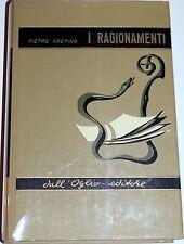 PIETRO ARETINO I RAGIONAMENTI DALL'OGLIO 1967