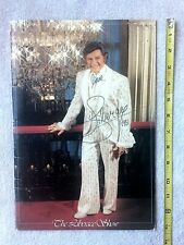 Liberace Autographed Show Program, Hand Signed Photos, Elvis Presley, DVD Movie