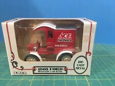 ERTL ~ 1905 Ford Delivery Truck / Coin Bank ~ Red, Ace Hardware 1:25 scale w Box