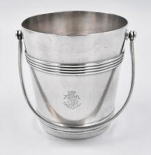 CHRISTOFLE Messageries Maritimes SEAU A GLACONS métal argenté ice boucket