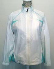 Sporte Leisure Sporte-Lite Ladies Rain Jacket - Size 10 - White/Aqua - New!