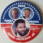 Barack Obama for Senate Jesse Jackson Jr John Kerry for President 2004 Illinois