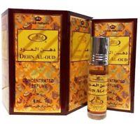Dehn Al Oud 6ml Par Rehab Musky Oudy Concentré Rouleau Sur Parfum Huile / Attar