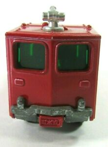 1970's Tomica Tokyu Chemical Fire Truck Red Diecast  No.94 Movable Nozzle Japan