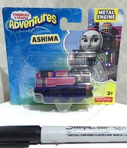 BN officially licensed ASHIMA metal engine THOMAS & FRIENDS Fisher Price NEW