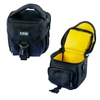 Camera Lens Black Photography Small Compact Shoulder Bag for Sony Canon DSLR