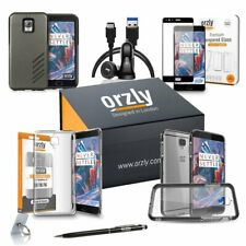 OnePlus 3/3T Orzly Case and Accessory Bundle Pack
