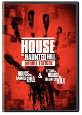 HOUSE ON HAUNTED HILL / RETURN TO HOUSE ON HAUNTED HILL  DOUBLE FEATURE DVD R1