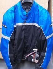 NOS Tour Master Draft Air 2 Jacket Blu Black Men XLG 8751-0202-07