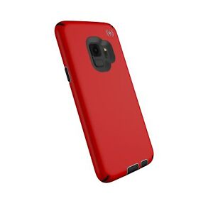 Speck Presidio Sport Case for Samsung Galaxy S9 Heartrate Red Sidewalk Grey