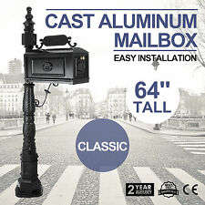 Classic Cast Aluminum Mail Box Mailboxs Postal Vevor Box Residential Decorative