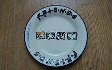 Vintage Friends TV Programme Plate. Staffordshire Tableware. 90s Plate.