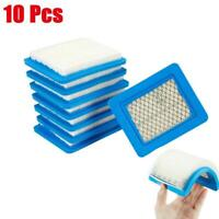 10pcs Air Filter Lawn Mower Filters for Briggs&Stratton 491588 491588S 399959