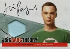 Big Bang Theory Seasons 3 & 4 Auto Wardrobe Card A2 Jim Parsons as Sheldon