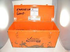 Victaulic Pressfit System (Empty) Metal Carry Box, Bin, Pft-505, Empty!