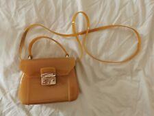 FURLA Candy Bon Bon Mini Crossbody Bag Mustard