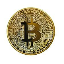 Bitcoin Gold Plated Collectible Coin