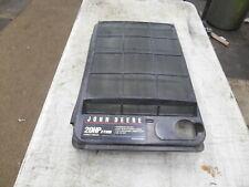 JOHN DEERE 345  LAWN&GARDEN TRACTOR 20 HP RADIATOR COVER