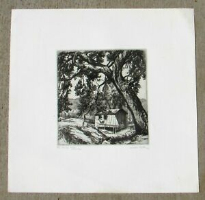 Cornelius Botke Etching The Pump House 3rd Edition 4/50