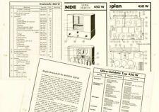 Mende Röhrenradio Ultra Selektiv 450W  ORIGINAL Schaltplan 1934-36 selten