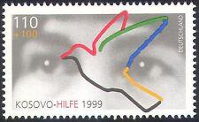 "Germany 1999 Dove/Eyes/Welfare/Birds/""KOSOVO- HILFE 1999""Animated 1v (n29650)"