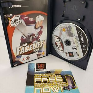 NHL FaceOff 2003 (Sony PlayStation 2, 2002) PS2 Complete