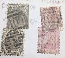 4 X British Guiana stamps