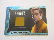 2017 Star Trek Beyond Movie Trading Cards Captain Kirk Costume Relic Card SR1