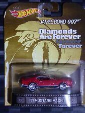 2014 HOTWHEELS - Retro entertainment C - BOND 007 '71 Mustang Mach 1