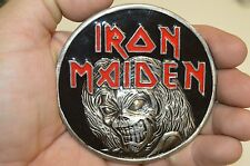 NICE Iron Maiden Rock Band Concert Promo Killers Eddie the Head Belt Buckle 2005