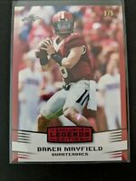 Baker Mayfield 2018 Leaf Exclusive Legends Edition SN# 3/5 Rookie RC Card EE-02