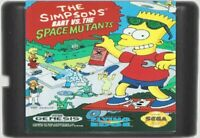 The Simpsons Bart vs. The Space Mutants (1992) 16 Bit For Genesis / MD System