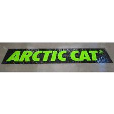 Arctic Cat 4 x 20 ft Poly Garage Shop Display Banner Sign Black & Green 4953-095