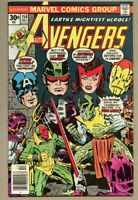 Avengers #154-1976 fn+ 6.5 George Perez Jack Kirby 1st Tyrak