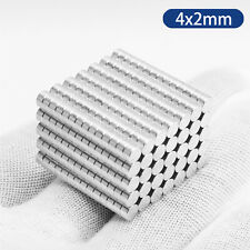 Magnets 4x2 Mm N35 Neodymium Disc Strong Small Neo Craft Magnet 4mm Dia X 2mm