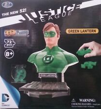 """DC New 52 Justice League Green Lantern 3D Puzzle 72 Pcs 6.25"""" NEW In Box"""