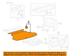 TOYOTA OEM 15-17 Camry Interior-Rear-Floor Cover 6477006290C0
