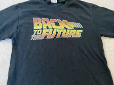 Back to The Future Vintage Movie Logo T Shirt Classic Retro 80's XS