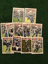 2008 Topps TENNESSEE TITANS Complete Team Set - Chris Johnson RC Rookie 11 Cards